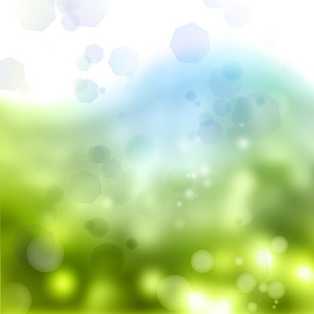 Abstract blue and green tone background Stock Photo - 13633267