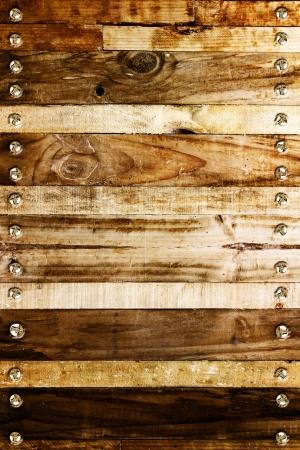 Gros plan de planches de bois