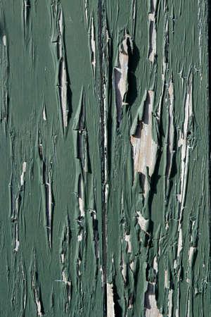 peeling paint: Primo piano di vernice scrostata sul muro