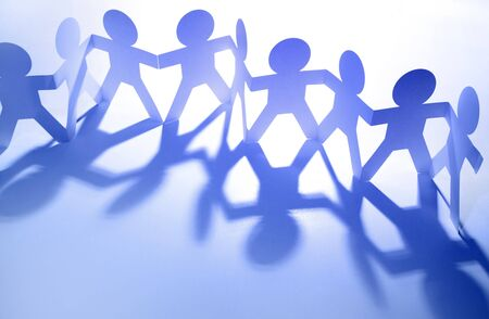 Group of people holding hands Stock Photo - 14028466