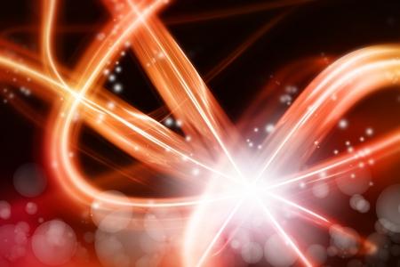 efectos especiales: Resumen senderos de luz de fondo Foto de archivo