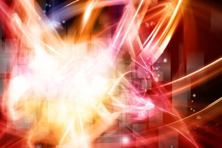 special effects: Brillante fondo abstracto espacio de la copia Foto de archivo