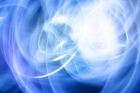 efectos especiales: Resumen de fondo azul y blanco Foto de archivo