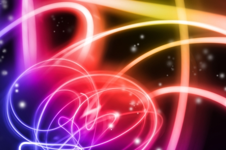 Abstract swirls of color background photo