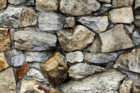boulder: Closeup of rock wall detail