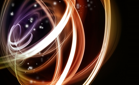 Abstract swirly lines background photo