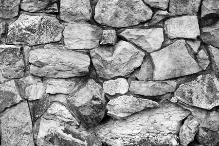 solidity: Closeup of rock wall