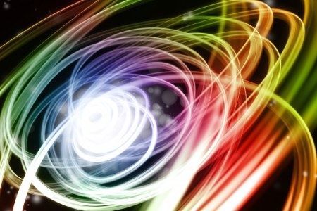 streak: Abstract colorful swirly lines background