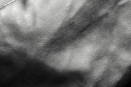 Closeup of leather texture Stock Photo - 14345284