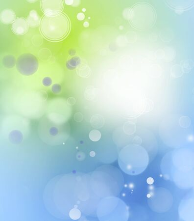 Abstract green and blue background Stock Photo - 14409028