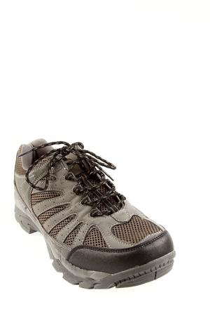 Running shoe on plain background Stock Photo - 14435959