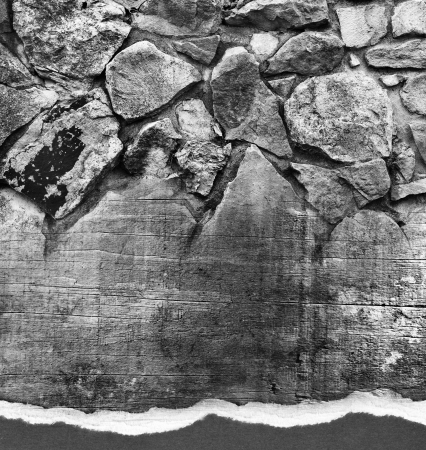 wood textures: Rocks, wood and ripped edge