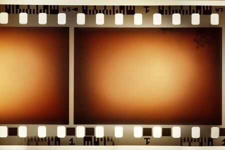 Film negative background, copy space photo