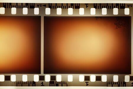 negatives: Film negative background, copy space Stock Photo