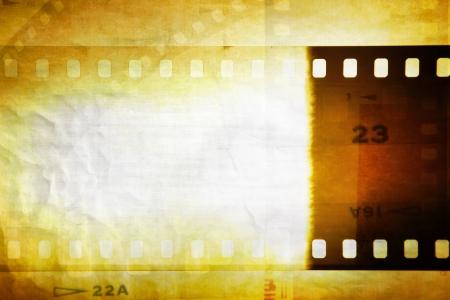 Grungy film negative background, copy space Stock Photo - 14492805