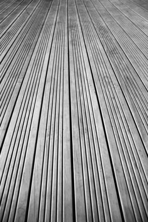 Closeup of lines in flooring photo