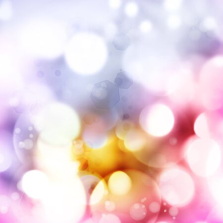 Circles of light on abstract background Stock Photo - 14695206