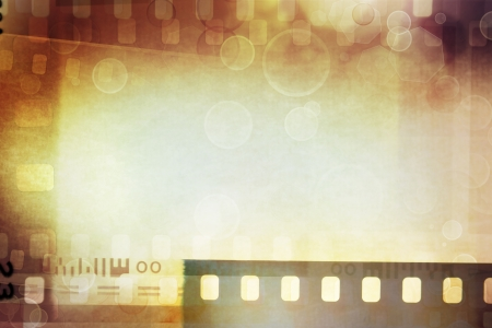 Grungy film negatives background, copy space Stock Photo - 14695212