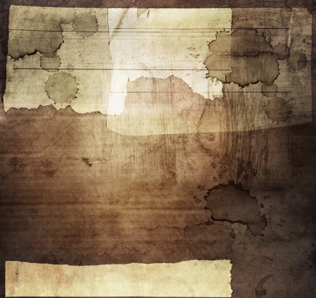 Grungy brown background. Design element photo