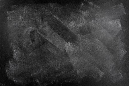 bulletin board: Chalk rubbed out on blackboard
