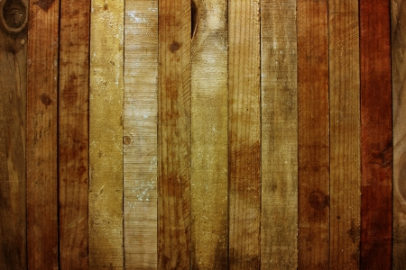 Closeup of wooden planks photo
