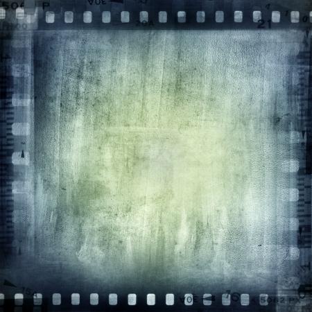 stripping: Negativos de pel�cula marco, copia espacio Foto de archivo