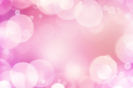 Abstract pink tone lights background