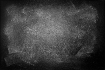 grunge textures: Gungy black board, copy space Stock Photo