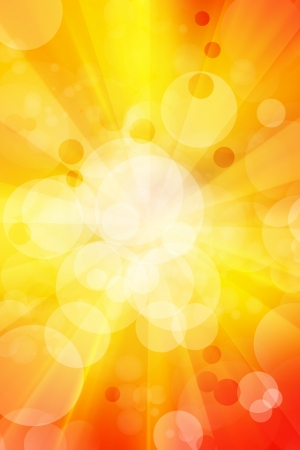 Bright yellow and orange abstract background  photo