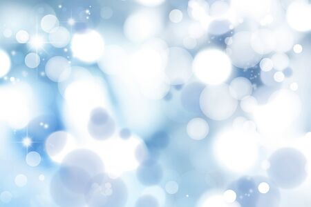 Soft focus circles  Blue abstract background   photo