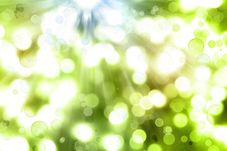 Abstract green color space background photo