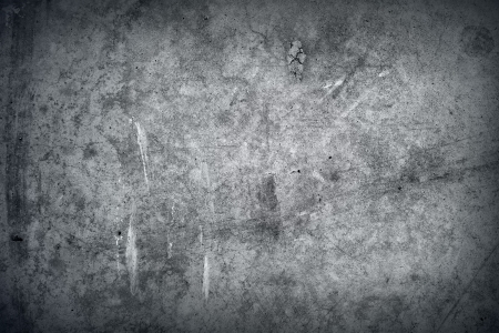 Grey grunge textured wall  Copy space Stock Photo - 15330801