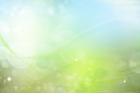 Abstract blue and green tone background Stock Photo - 15423864