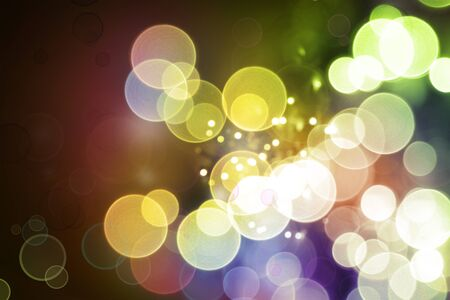 bright lights: Colorful circles abstract background