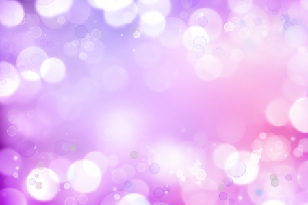 Soft focus circles purple pink background Stock Photo - 15749469