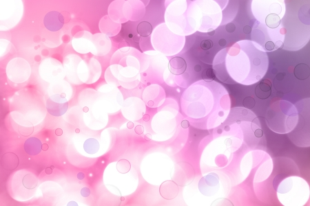 pink bubbles: Bright lights purple and pink tone background