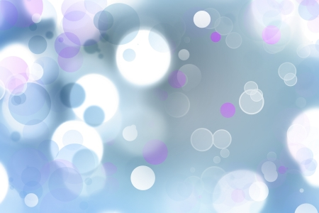 Bright circles of light abstract background photo