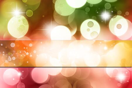 green tone: Stars on red and green tone background