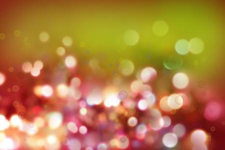 blurry lights: Luminoso astratto luci colorate
