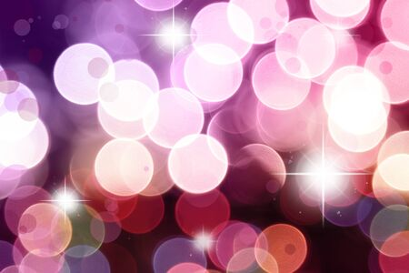 Stars on purple and pink tone background photo
