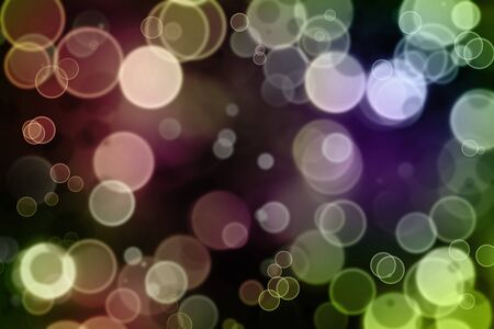 Abstract green and purple tone background photo