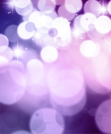 Stars on purple tone background Stock Photo - 15956427