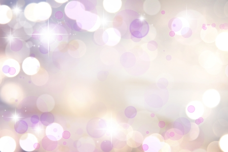Stars on pink tone background photo