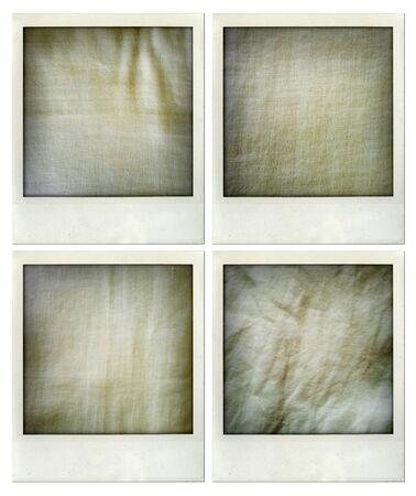 fabric textures: Closeup of assorted fabric textures Stock Photo