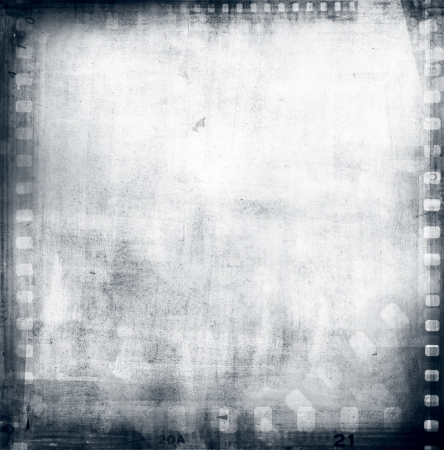 photographic film: Film negatives frame Stock Photo