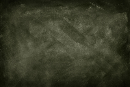 Chalk rubbed out on blackboard photo