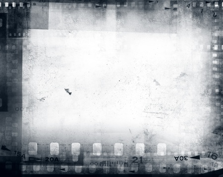 film strip: Film negatives frame, copy space Stock Photo