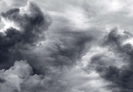 Dark ominous storm clouds  Dramatic sky Stock Photo - 17090160