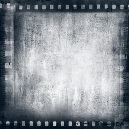 Film negatives frame, copy space photo