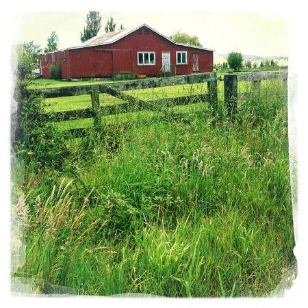An old barn in rural scene Stock Photo - 17261638